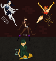 The Heros with Names by MobMotherScitah