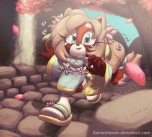 Gift - Mei the Red Panda by Karneolienne