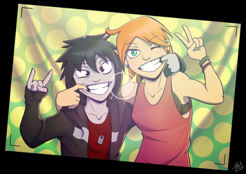 Kay and Jay by AbnormallyNice