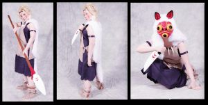 San cosplay revamp collection by MissRaptor