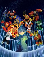 Mega Man Legacy Collection by theCHAMBA