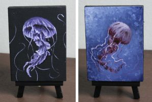 Mini Jellies 1 and 2 2017Aug by crazycolleeny