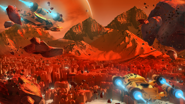 Red Planet by bungyx