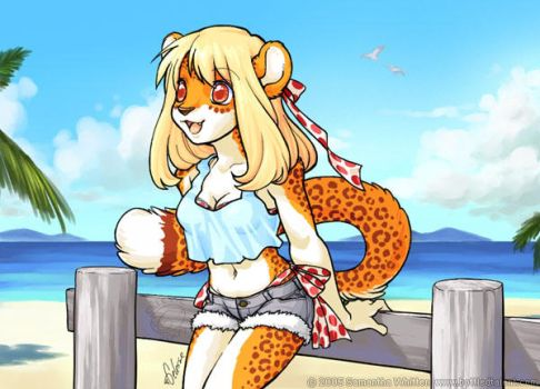 At the Beach by celesse