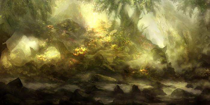 Forest Dream by Narandel