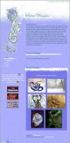 Winter Dragon CSS by HorselessHerder