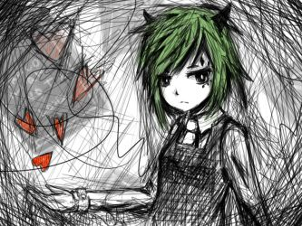 Gumi's Poker Face by HamCrumbs