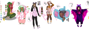 [OPEN 7/8] Group Kigurumi Adopts by FIute