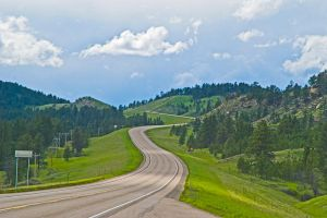 Powder River County Highway by quintmckown