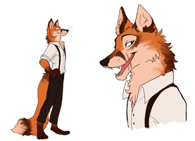 Furry Everett by chamimation