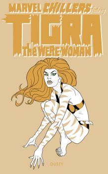 Art Challenge 1 Tigra by dusty-abell