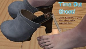 Time Out Shoes by DrCreep