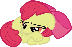 Applebloom - Super Seriously by Firestorm-CAN
