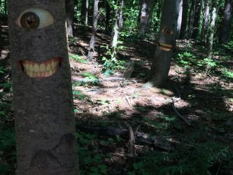The Hungry Tree's Have Eyes by CrackerHumps