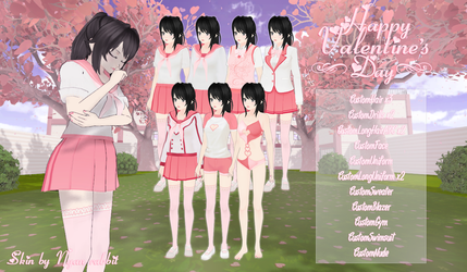 YanSim: Happy Valentine's Day! | Skin + DL by ENERHEL