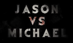 Jason vs. Michael outline by SteveIrwinFan96