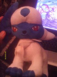 Absol Plush by Sliverbolt