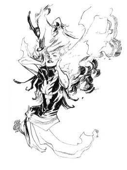 PHOENIX, AGAIN_commission by EricCanete