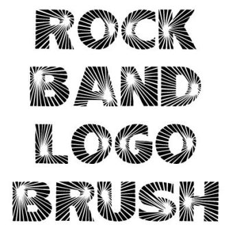 Rock Band Logo by KaeGirl101
