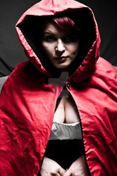 Red Cos Play Little red riding hood by VisualEyeCandy