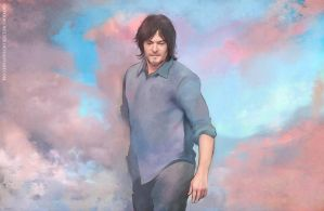 Norman Reedus  - wind by Everybery