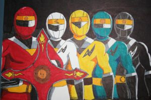 Alien Rangers by racookie3
