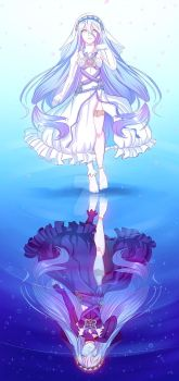 Lady of the lake by japanindisguise