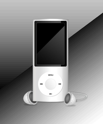 3D iPod - Photoshop 3D drawing. by staceylaurenx