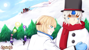 Elsword Wallpaper Contest by queen-val