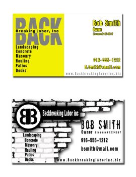 Business card ideas by BTD55