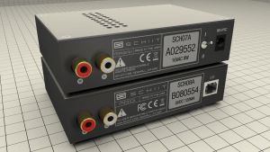 Schiit Audio Magni/Modi Amp and DAC Stack Back by polygonbronson