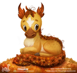 Daily Paint 1780# Foaliage by Cryptid-Creations