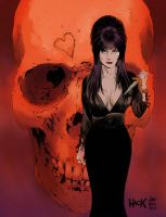 Elvira, Mistress of the Dark by RobertHack