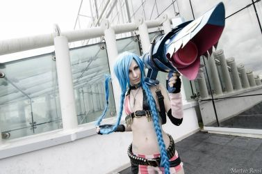 Ae as Jinx From League of Legend by AE-cosplay
