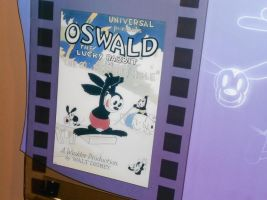 Oswald Poster At One Man's Dream by WilburySteve