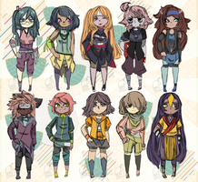 [naruto] adopts set - OPEN [6 LEFT] by milk-time