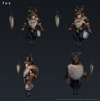 fox - 3D (final) by leticiakao