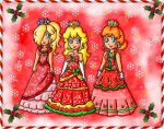 christmas royal ball attires by ninpeachlover