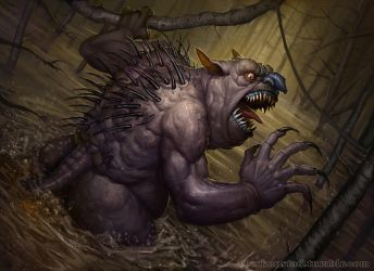 The Ugliest Creature of the Night by AlexKonstad