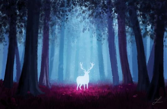 Enchanted forest. by Zary-CZ
