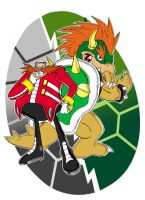 The Villians-Eggman and Bowser by AnTyep