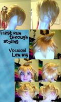 Len wig styling by haleliwil