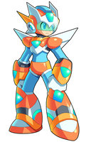 Metadev Orion - (Fusion) - Mega Man by V-a-a-N