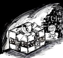 #inktober 16 day 26 'box' by mcd91