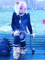 Visual Kei at the park by PunkyShinigami