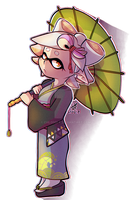 Marie from splatoon by Chloodle