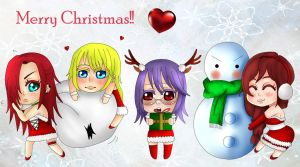 Merry Christmas babys!!! by AimiMay