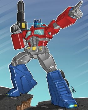 Optimus Prime G1 by Ronniesolano