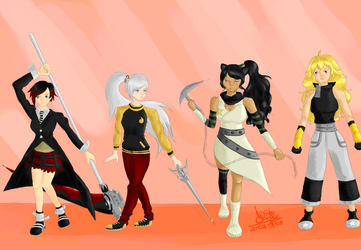 Request - RWBY/Soul Eater crossover by Renskee