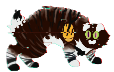 schizophrenia [Warrior Cat OC request] by WonderBlue2004